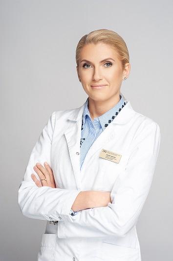 Medicinos diagnostikos ir gydymo centro plastinės ir rekonstrukcinės chirurgijos gydytoja Gabrielė Latakaitė