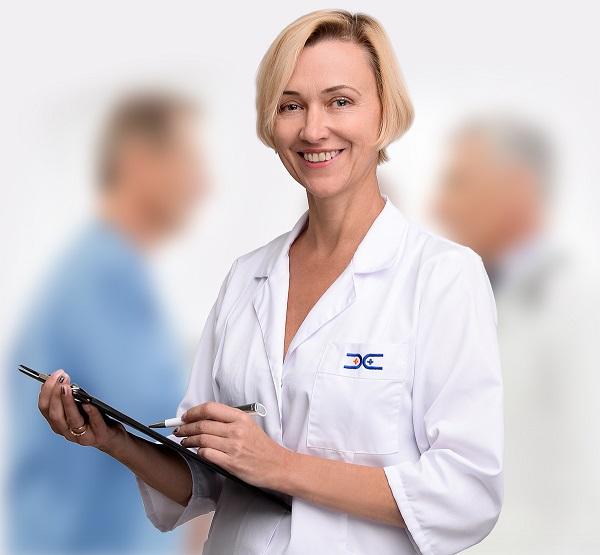 Šapranauskienė Ina. Medicinos diagnostikos ir gydymo centro Laboratorijos vadovė