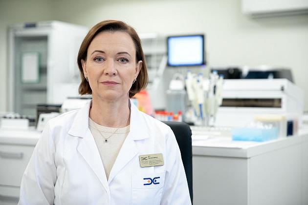 Medicinos diagnostikos ir gydymo centro Laboratorinės diagnostikos centro vadovė Ina Šapranauskienė